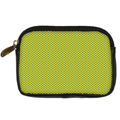 Polka Dot Green Yellow Digital Camera Cases by Mariart