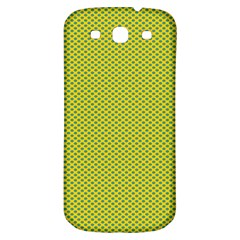 Polka Dot Green Yellow Samsung Galaxy S3 S Iii Classic Hardshell Back Case by Mariart