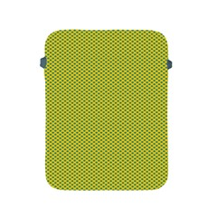 Polka Dot Green Yellow Apple Ipad 2/3/4 Protective Soft Cases by Mariart