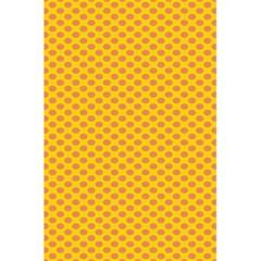 Polka Dot Orange Yellow 5 5  X 8 5  Notebooks by Mariart