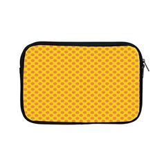 Polka Dot Orange Yellow Apple Ipad Mini Zipper Cases by Mariart