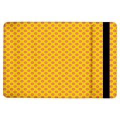 Polka Dot Orange Yellow Ipad Air Flip by Mariart