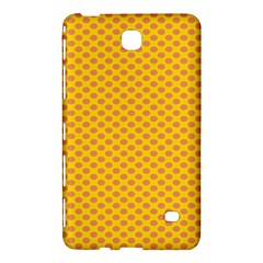 Polka Dot Orange Yellow Samsung Galaxy Tab 4 (8 ) Hardshell Case  by Mariart