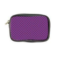 Polka Dot Purple Blue Coin Purse by Mariart