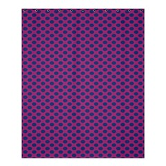 Polka Dot Purple Blue Shower Curtain 60  X 72  (medium)  by Mariart