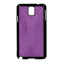 Polka Dot Purple Blue Samsung Galaxy Note 3 Neo Hardshell Case (black) by Mariart