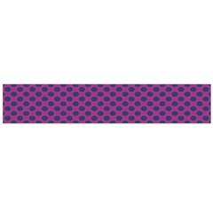 Polka Dot Purple Blue Flano Scarf (large) by Mariart