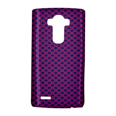 Polka Dot Purple Blue Lg G4 Hardshell Case by Mariart
