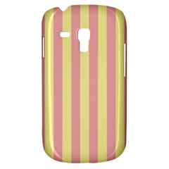 Pink Yellow Stripes Line Galaxy S3 Mini by Mariart