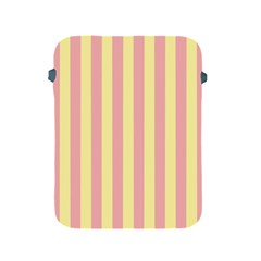 Pink Yellow Stripes Line Apple Ipad 2/3/4 Protective Soft Cases by Mariart