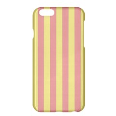 Pink Yellow Stripes Line Apple Iphone 6 Plus/6s Plus Hardshell Case by Mariart