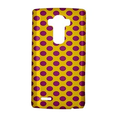 Polka Dot Purple Yellow Lg G4 Hardshell Case by Mariart
