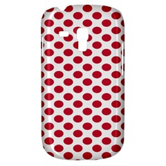 Polka Dot Red White Galaxy S3 Mini by Mariart