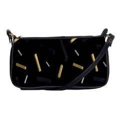 Rectangle Chalks Shoulder Clutch Bags by Mariart