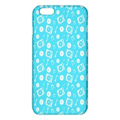 Record Blue Dj Music Note Club Iphone 6 Plus/6s Plus Tpu Case by Mariart