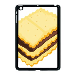 Sandwich Biscuit Chocolate Bread Apple Ipad Mini Case (black) by Mariart