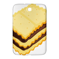 Sandwich Biscuit Chocolate Bread Samsung Galaxy Note 8 0 N5100 Hardshell Case  by Mariart