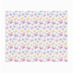 Pretty Colorful Butterflies Small Glasses Cloth (2 Side)