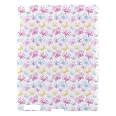 Pretty Colorful Butterflies Apple Ipad 3/4 Hardshell Case