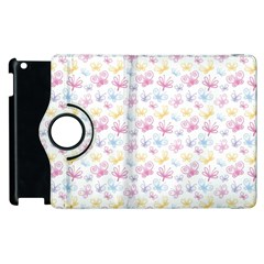Pretty Colorful Butterflies Apple Ipad 3/4 Flip 360 Case