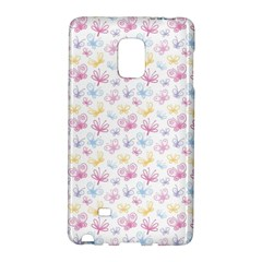 Pretty Colorful Butterflies Galaxy Note Edge by tarastyle