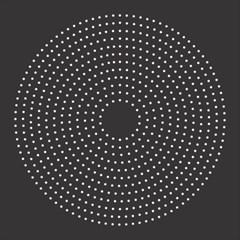 Round Stitch Scrapbook Circle Stitching Template Polka Dot Magic Photo Cubes by Mariart