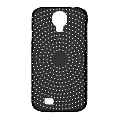 Round Stitch Scrapbook Circle Stitching Template Polka Dot Samsung Galaxy S4 Classic Hardshell Case (pc+silicone) by Mariart