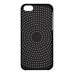 Round Stitch Scrapbook Circle Stitching Template Polka Dot Apple Iphone 5c Hardshell Case by Mariart