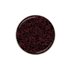 Random Red Black Hat Clip Ball Marker (4 Pack) by Mariart