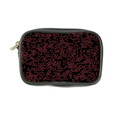 Random Red Black Coin Purse by Mariart