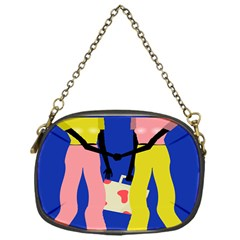 Shake Hands Chain Purses (one Side)  by Mariart