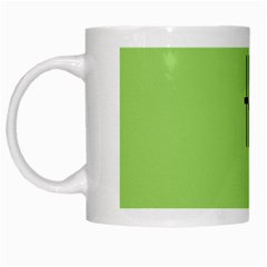 Sign Green The White Mugs by Mariart