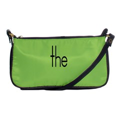 Sign Green The Shoulder Clutch Bags by Mariart