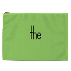 Sign Green The Cosmetic Bag (xxl)  by Mariart