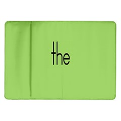 Sign Green The Samsung Galaxy Tab 10 1  P7500 Flip Case by Mariart