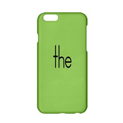 Sign Green The Apple Iphone 6/6s Hardshell Case by Mariart
