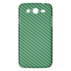 Striped Green Samsung Galaxy Mega 5 8 I9152 Hardshell Case  by Mariart