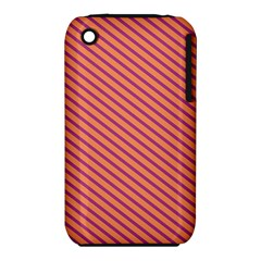 Striped Purple Orange Iphone 3s/3gs by Mariart