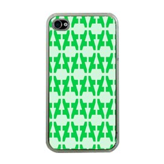 Sign Green A Apple Iphone 4 Case (clear) by Mariart