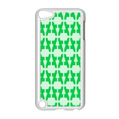 Sign Green A Apple Ipod Touch 5 Case (white) by Mariart