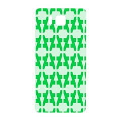 Sign Green A Samsung Galaxy Alpha Hardshell Back Case by Mariart