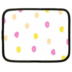 Stone Diamond Yellow Pink Brown Netbook Case (xxl)  by Mariart
