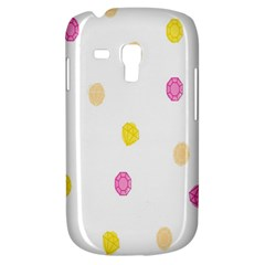Stone Diamond Yellow Pink Brown Galaxy S3 Mini by Mariart