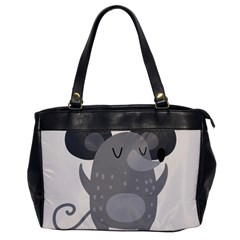 Tooth Bigstock Cute Cartoon Mouse Grey Animals Pest Office Handbags by Mariart