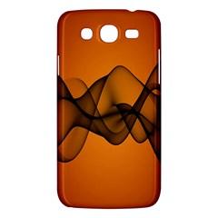Transparent Waves Wave Orange Samsung Galaxy Mega 5 8 I9152 Hardshell Case  by Mariart