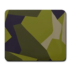 Unifom Camuflage Green Frey Purple Falg Large Mousepads by Mariart