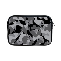 Urban Initial Camouflage Grey Black Apple Ipad Mini Zipper Cases by Mariart