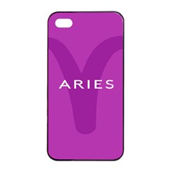 Zodiac Aries Apple Iphone 4/4s Seamless Case (black) by Mariart