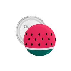 Watermelon Red Green White Black Fruit 1 75  Buttons by Mariart