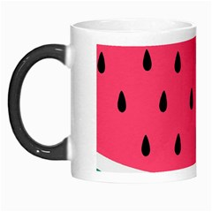 Watermelon Red Green White Black Fruit Morph Mugs by Mariart